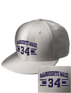 Marguerite Maze Middle School Hawks  Embroidered New Era Flat Bill Snapback Cap