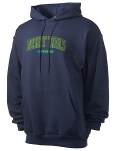 Desert Trails Elementary School Coyotes Men's 7.8 oz Lightweight Hooded Sweatshirt