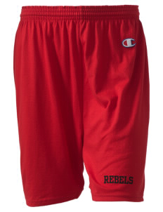 "A.B. Miller High School Rebels  Champion Women's Gym Shorts, 6"" Inseam"