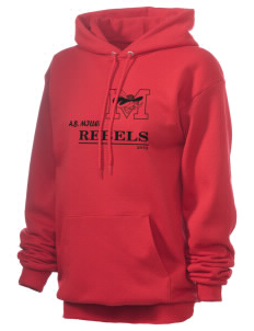 A.B. Miller High School Rebels Unisex 7.8 oz Lightweight Hooded Sweatshirt