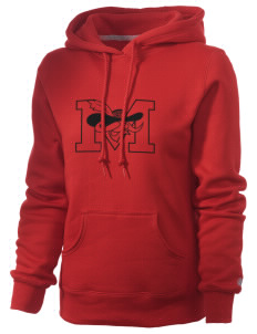 A.B. Miller High School Rebels Russell Women's Pro Cotton Fleece Hooded Sweatshirt