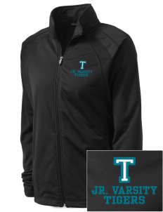Topaz Elementary School Tigers Embroidered Women's Tricot Track Jacket