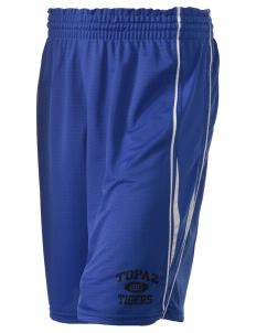 "Topaz Elementary School Tigers Holloway Women's Piketon Short, 8"" Inseam"