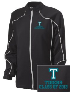 Topaz Elementary School Tigers Embroidered Russell Women's Full Zip Jacket