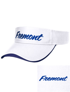 Fremont Middle School Trailblazers Embroidered Binding Visor