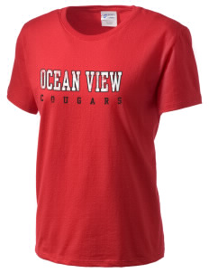 Ocean View Elementary School Cougars Women's Essential T-Shirt