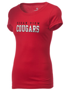 Ocean View Elementary School Cougars Holloway Women's Groove T-Shirt