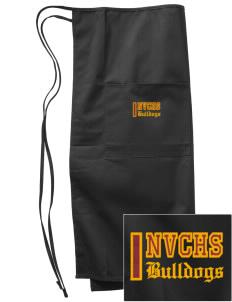 North Valley Continuation High School Bulldogs Embroidered Full Bistro Bib Apron