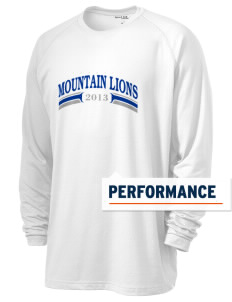 Mountain Lake High School Mountain Lions Men's Ultimate Performance Long Sleeve T-Shirt