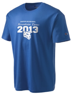 Mountain Lake High School Mountain Lions Champion Men's Tagless T-Shirt