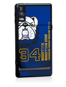 Fall River Senior High School Bulldogs Motorola Droid 2 Skin