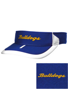 Fall River Senior High School Bulldogs Embroidered M2 Sideline Adjustable Visor