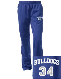 Community Learning Center Bulldogs Embroidered Women's Tricot Track Pants