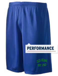 "Felix A Williams Elementary School Sail Fish Holloway Men's Speed Shorts, 9"" Inseam"