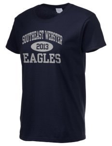 Southeast Webster Middle School Eagles Women's 6.1 oz Ultra Cotton T-Shirt