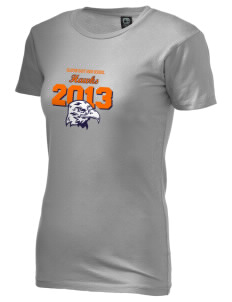 Olathe East High School Hawks Alternative Women's Basic Crew T-Shirt