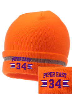 Piper East Elementary School Pirates  Embroidered Safety Beanie with Reflective Stripe