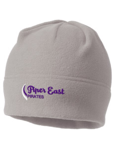 Piper East Elementary School Pirates Embroidered Fleece Beanie