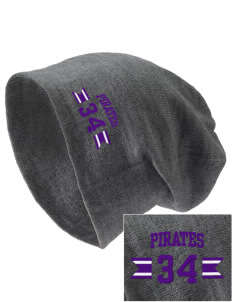 Piper East Elementary School Pirates Embroidered Slouch Beanie
