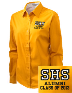 Souhegan High School Sabers Embroidered Women's Easy-Care Shirt