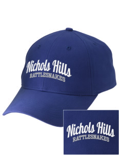 Nichols Hills Elementary School Rattlesnakes Embroidered Low-Profile Cap