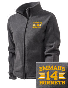 Emmaus High School Hornets Embroidered Women's Fleece Full-Zip Jacket
