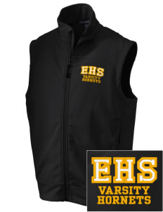 Emmaus High School Hornets Embroidered Men's Glacier Soft Shell Vest