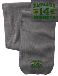 Emmaus High School Hornets  Embroidered Extra Long Fleece Scarf