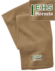 Emmaus High School Hornets  Embroidered Knitted Scarf