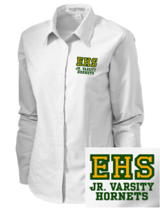 Emmaus High School Hornets Embroidered Women's Classic Oxford