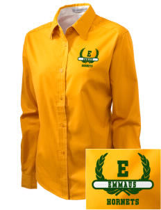 Emmaus High School Hornets Embroidered Women's Easy-Care Shirt