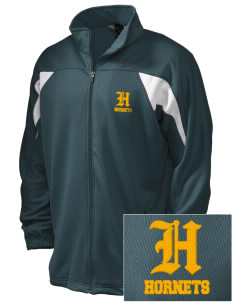 Emmaus High School Hornets Embroidered Holloway Men's Full-Zip Track Jacket
