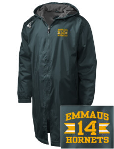 Emmaus High School Hornets Embroidered Holloway Men's Long Full-Zip Jacket
