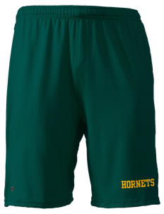 "Emmaus High School Hornets Holloway Men's Performance Shorts, with pockets, 9"" Inseam"