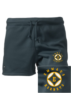 "Emmaus High School Hornets Embroidered Holloway Women's Balance Shorts, 3"" Inseam"