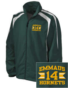 Emmaus High School Hornets Embroidered Men's Colorblock Raglan Jacket