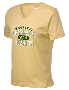 Emmaus High School Hornets Women's V-Neck T-Shirt