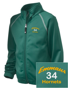 Emmaus High School Hornets Embroidered Holloway Kid's Attitude Warmup Jacket