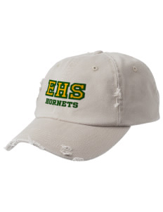 Emmaus High School Hornets Embroidered Distressed Cap