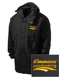 Emmaus High School Hornets Embroidered Men's Three-Season Sport Parka