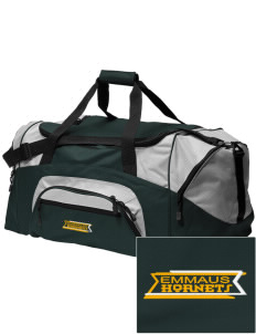 Emmaus High School Hornets Embroidered Colorblock Duffel Bag