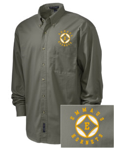 Emmaus High School Hornets Embroidered Men's Twill Shirt