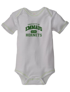 Emmaus High School Hornets Baby Zig-Zag Creeper