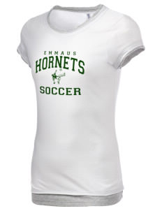 Emmaus High School Hornets Women's Sheer Claudette 2 in 1 T-Shirt