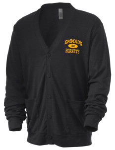 Emmaus High School Hornets Men's 5.6 oz Triblend Cardigan