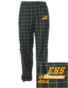 Emmaus High School Hornets Embroidered Men's Button-Fly Collegiate Flannel Pant