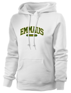 Emmaus High School Hornets Russell Women's Pro Cotton Fleece Hooded Sweatshirt