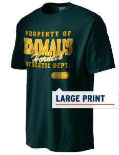 Emmaus High School Hornets Men's Essential T-Shirt with Large Print Designs