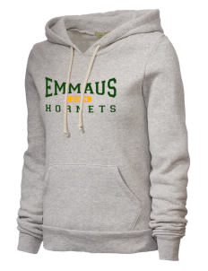 Emmaus High School Hornets Alternative Women's Athletics Hooded Sweatshirt