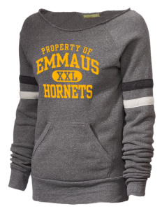 Emmaus High School Hornets Alternative Women's Maniac Sport Crewneck Sweatshirt